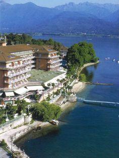 Grand Hotel Dino, Baveno, Lake Maggiore Italy. Picture doesn't do it justice!