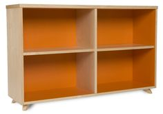 17 Extraordinary Orange Bookcase Image Ideas