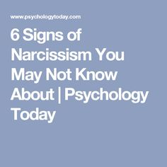 Am i hookup a narcissist quiz