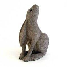Stone Garden - Moongazing Hare