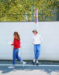 ボーイミーツガール – CLUÉL.jp Denim Fashion, Boy Fashion, Fashion Photo, Fashion Looks, Womens Fashion, Fashion Outfits, Magazine Japan, Western Girl, Couple Posing