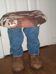Givin The Stool The Boot Junkmarket Style Made With
