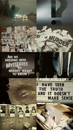 "Buzzfeed Unsolved Aesthetic | True Crime ""I can't say who I think did it. Our legal team had informed that I can't chime in that. But I will blink to you in Morse code who I think did it. You don't know Morse code. """