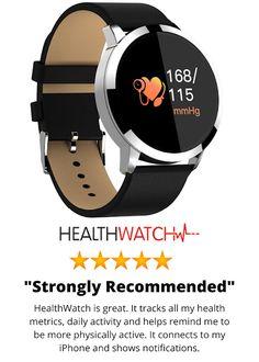 HOW TO LIVE ...HEALTHIER: HEALTH WATCH Health Products, Smart Watch, Blood, Watches, Live, Healthy, Smartwatch, Wristwatches, Clocks