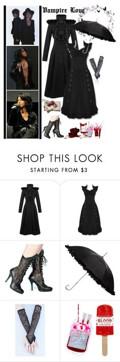 """""""Vamps (Hyde & KAZ)"""" by fashionqueen76 ❤ liked on Polyvore featuring Ciel and Retrò"""