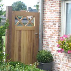 houten poortje