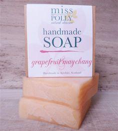 Grapefruit & May Chang Handmade Soap