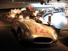 Race cars @Mercedes Museum, Stuttgart