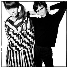 Chrissie Shrimpton and Ossie Clark, 1965