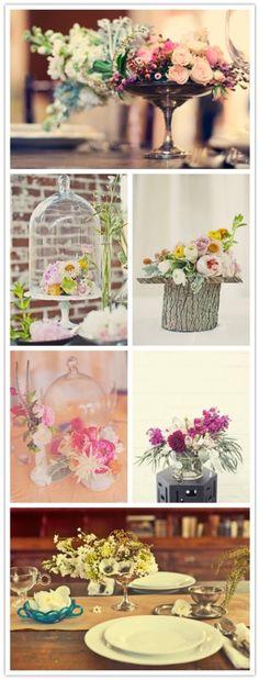 natural flower arrangements by Amy Claire