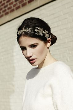 Wedding hair inspiration and hair accessories to die for.