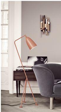 Stehlampe Kupfer - http://christianwalker.ch/moebel/index.php/moebel/lampen.html
