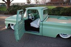 old trucks chevy 1966 Chevy Truck, Custom Chevy Trucks, Vintage Pickup Trucks, Classic Pickup Trucks, Chevy C10, Chevy Pickups, Chevrolet Trucks, Gmc Trucks, Cool Trucks