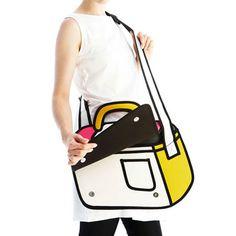Paper Messenger Bag - Awesome Gifts - ImAlwaysBroke.com