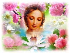 JEZUS en MARIA Groep.: MARIA DE TUINIERSTER VAN HET PARADIJS
