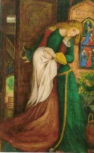 Elizabeth Siddal: Lady Clare, c. Elizabeth Siddal, Pre Raphaelite Paintings, Pre Raphaelite Brotherhood, John William Waterhouse, Tate Gallery, Victorian Art, Victorian Women, English Artists, Arts And Crafts Movement