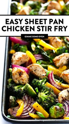 Stir Fry Dinner Recipes, Asian Recipes, Healthy Recipes, Diet Recipes, Top Recipes, Healthy Dinners, Weeknight Meals, Delicious Recipes, Healthy Foods
