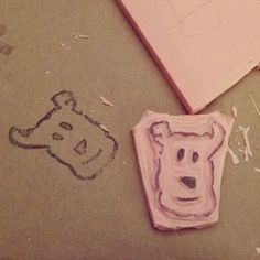 How to Make Your Own Rubber Stamp DIY Tutorial