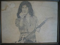 Eddie Van Halen drawing done when I was 15