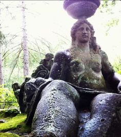 Ceres Roman godness, Park of Monsters in Bomarzo, Lazio Roman Gods, Regions Of Italy, Ancient History, Small Towns, Monsters, Old Things, Statue, Park, Country
