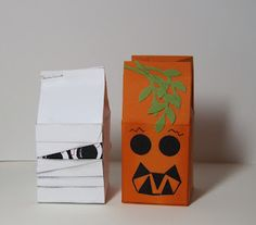 Halloween Spooky Monster Milk Cartons | Stamp Up Your Craft - four others at the link!