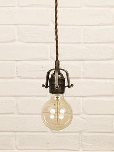Portalampada in ferro - OfficineLuce, Illuminazione Artigianale Vintage