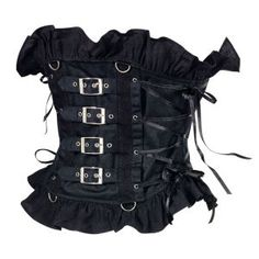Sexy sweet tough steampunk weskit, great for ren faire or Halloween costume parties :) from pyramidcollection.com