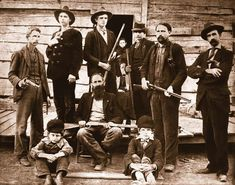 The Hatfield-McCoy feud began in the mountainous Tug River valley which separated the Hatfield and McCoy clans.