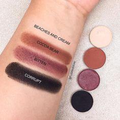 Makeup Geek Eyeshadows Quad ideas #1