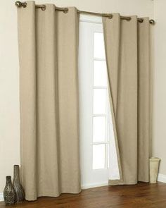 Ricardo Trading Ultimate Blackout Grommet Top Panel Tie Up Curtains, Valance, Blackout Curtains, Lace Balloons, Stainless Steel Rust, Tie Up Shades, Balloon Shades, Bamboo Panels, Living Room Decor Inspiration