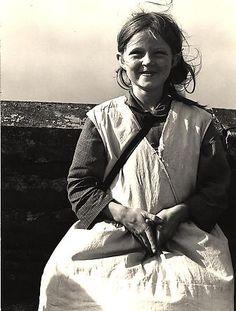 Girl, Western Ireland 1954