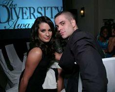 Lea Michele + Mark Salling