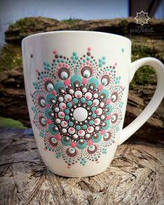Dot Art Painting, Rock Painting Designs, Mandala Painting, Pottery Painting, Stone Painting, Mandala Doodle, Mandala Canvas, Mandala Dots, Mandala Design