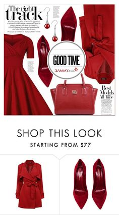 """The Right Track"" by lucky-1990 ❤ liked on Polyvore featuring Gianvito Rossi"