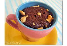 Panelaterapia   Brownie de Caneca (de Microondas)   http://panelaterapia.com