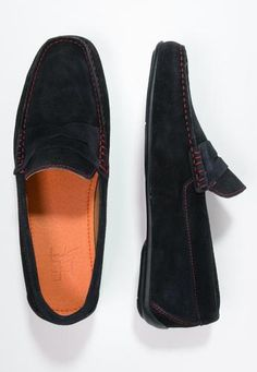 #Hardrige mocassini marine/bordeaux Blu scuro  ad Euro 93.50 in #Hardrige #Uomo scarpe scarpe basse