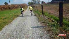 La Via Francigena in mountain bike - Ivrea - Vercelli