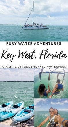 Key West Water Adventures with FURY! Parasailing, Jet Skiing, Snorkeling and many more activities! | Wanderlustyle.com