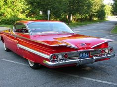 1960 - Chevy Impala my dad bought a 59. Then saw these and wished he had waited two more weeks