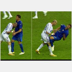 E assim se rebenta com uma imagem.... Mundial 2006 na Alemanha, zidane e materazzi...:(