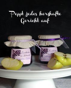 Holunder-Relish mit Äpfeln