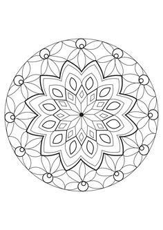 A special Mandala, made by Celine., From the gallery : Mandalas