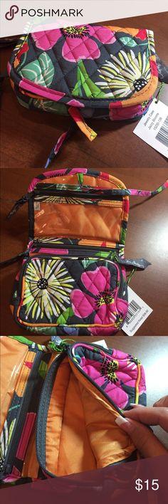 Vera Bradley Jewelry Case NEW WITH TAGS, Vera Bradley Jewelry Case, pattern is Jazzy Blooms. Vera Bradley Jewelry