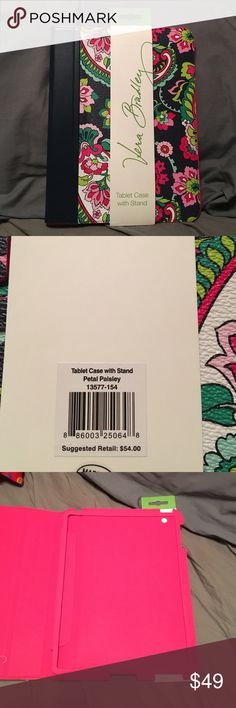 "Vera Bradley petal paisley tablet case Brand new never used Vera Bradley tablet case. Mint condition fits about 10"" tablet Vera Bradley Accessories Tablet Cases"