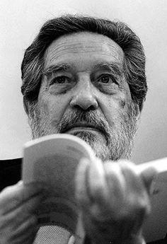 Octavio Paz, (1914-1998) - Mexican poet-diplomat and writer. Nobel Prize Literature 1990. Photo by Daniel Mordzinski