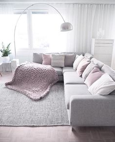 70 Likes, 5 Comments - Inredning Living Room Themes, Home Living Room, Living Spaces, Living Area, Hygge Home, Inspire Me Home Decor, Comfy Sofa, Small Apartment Decorating, Scandinavian Home