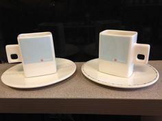 Square Loveramics Espresso Cups