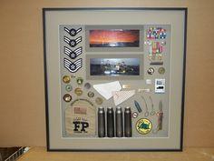 Military Memorabilia ~ Shadowbox Framing