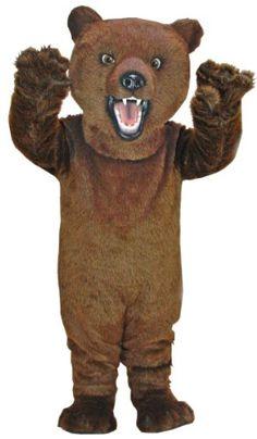 Fierce Grizzly Mascot Costume MaskUS Costumes http://www.amazon.com/dp/B001GWVZ3M/ref=cm_sw_r_pi_dp_2Fh8vb1TCKYFX