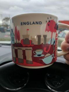 England | YOU ARE HERE SERIES | Starbucks City Mugs